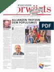 Niedersachsen Vorwärts Dezember/Januar 2016/2017