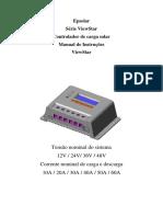 Manual de Instruções - Controlador Epsolar