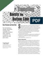 PE Sampling CS-GS