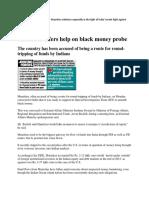 India-mauritius on Black Money