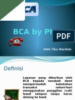 BCA by Phone 2
