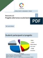 Progetto alternanza 2010, Prof.ssa L.Palazzo