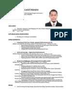 Lag Cv Resume 2016