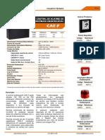 Folheto Tecnico Cae f 500