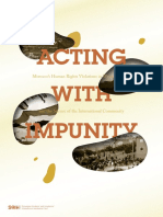 Acting With Impunity Western Sahara Report