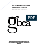gbea 2010spring journal