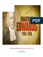 As 70 Resoluçoes Jonathan Edwards