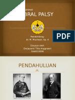 PRESENTASI REFERAT CEREBRAL PALSY