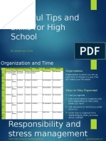 9 useful tips and skills for high school