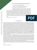 """Godel Incompleteness & the Black Hole Information Paradox"" — R. Srikanth & Srikanth Hebri (2008)"