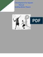 Athletic Development for Squash