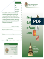 Payday Loan Pamphlet