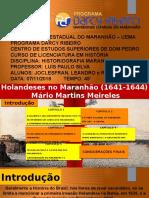 Seminário - Holandeses No Maranhão