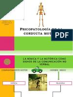 Psicopatología de La Conducta Motora (1)