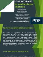 FACTORES AMBIENTALES ABIOTICOS