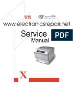 Phaser 6250 Service