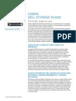 DellStorage SC4020 Spec Sheet 030714 ES HR