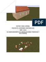 Proyecto de una vivienda unifamiliar