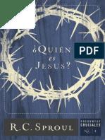 LIBRO - Quién Es Jesus - R. C. Sproul