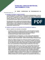 Caso de Estudio 5 Supervisora de Programación en Reparaciones s.a.