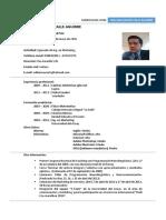 Curriculum Vitae William Xavier Calle
