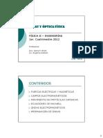 Ondas y Optica - Presentacion