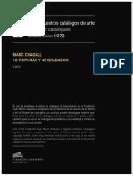 Marc Chagal (Catálogo March Foundation)