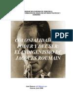 Colonialidad Del Poder y Del Ser El Indigenismo de Jacques