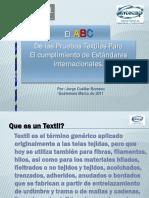 ABC Del as Pruebas Textilesapparel 2011