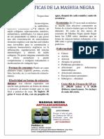 Características de La Mashua Negra