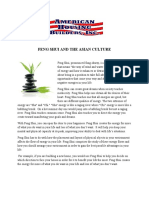 Feng Shui and the Asian Culture