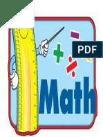 Cartilla de Pensamientos Matemáticos 1