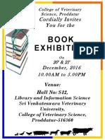 Book Exhibition Invitation