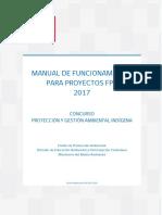 Manual de Funcionamiento Para Proyectos Fpa Indigena