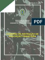 Caderno de Instrução de Eduacação Financeira - 1ª Edição 2015