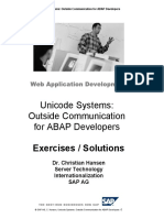 Unicode System Outside Communication for ABAP Programmers - Exercises.pdf