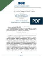 Ley 1 2014 Transparencia Andalucia