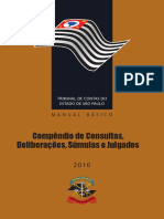 Compendio de Consultas Deliberacoes Sumulas e Julgados