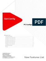 GenConfig 3.3.0 New Features