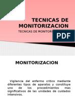 Tecnicas de Monitorizacion