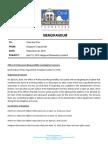 MPD Internal Report