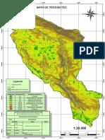 Mapa de Pendientes - Cachimayo