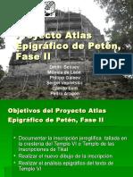Atlas Epigrafico de Peten 2015