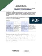 Immigration Client Questionnaire (Espanol)