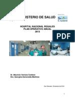 Hospital Rosales PAO 2013