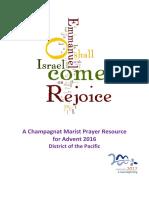 Advent Prayers 2016