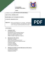 Programa de Optimización, 2 2016