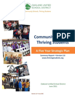 Community Schools Institute Community School Model Wkshp Community Schools Thriving Students Strategic Plan