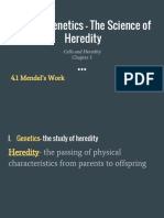 unit 4  genetics- the science of heredity