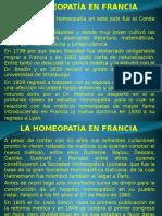 La Homeopatia en Paises
